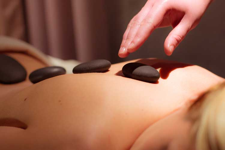 Royal Evian Hotel-Hot stones massage