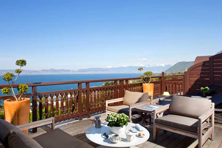 Royal Evian Hotel-Lake Geneva