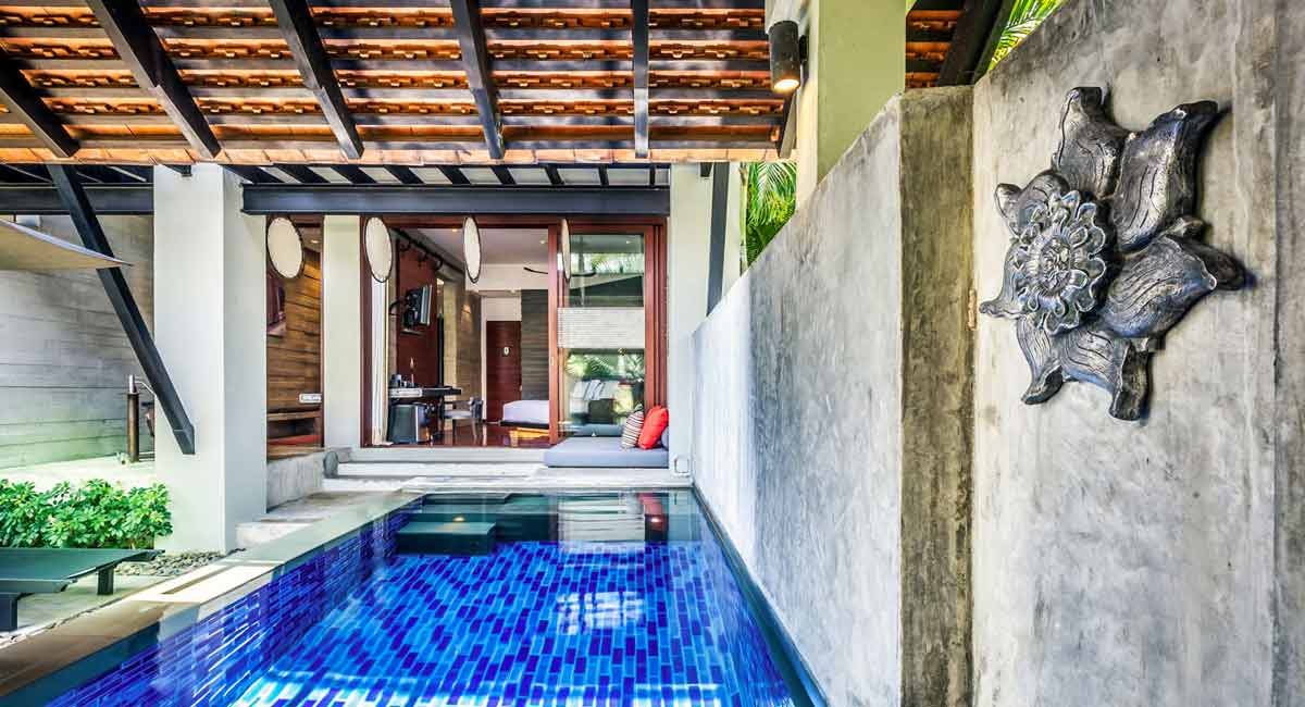 The Slate Hotel Phuket-Poool villa