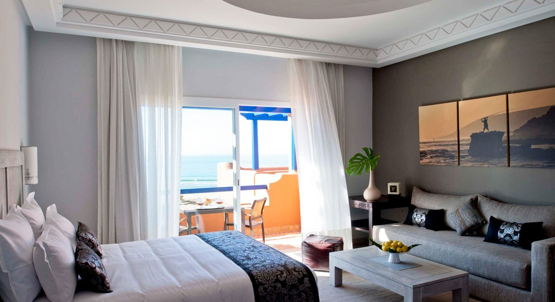 Paradis Plage Hotel-suite with sea view