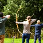 Archery lessons for kids at the Ashford Castle