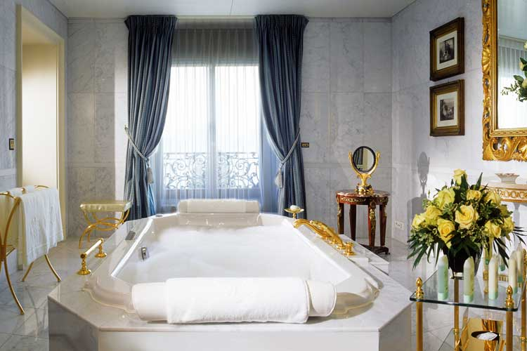 Beau Rivage Lausanne-Bathroom