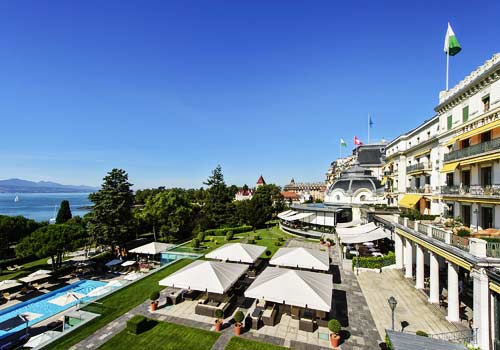 Beau Rivage Palace Lausanne-Exterior View