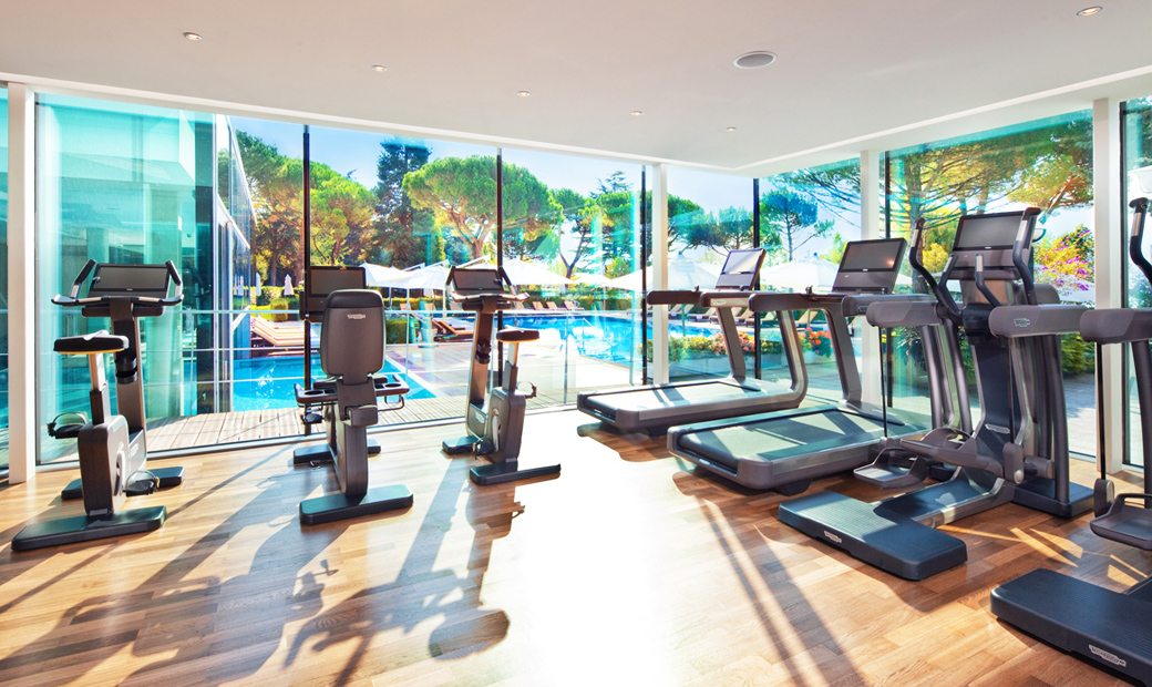 Beau-Rivage-Palace- Fitness - Sport with view on the lake