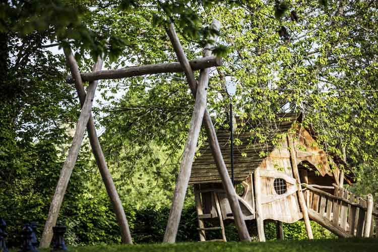 Domaine des Etangs-children hut