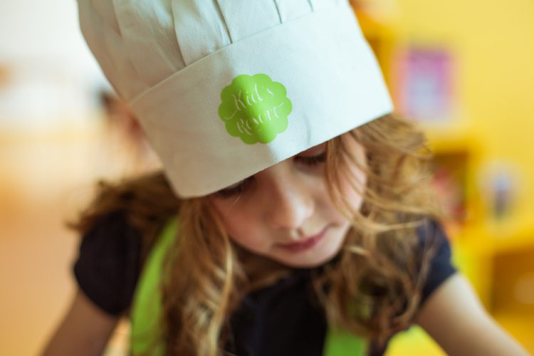 Pastry classes for kids at Evian Resort