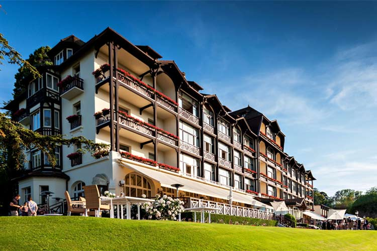 Hotel Evian Ermitage-External view