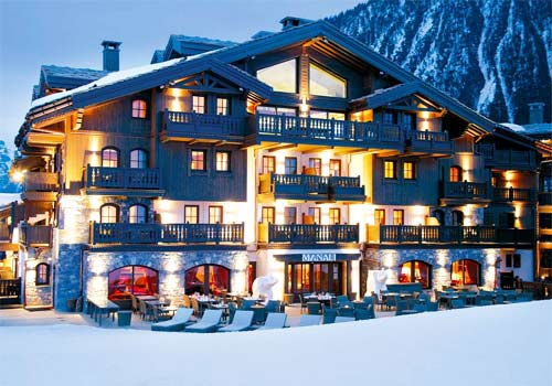 Hotel Manali Courchevelle-External View