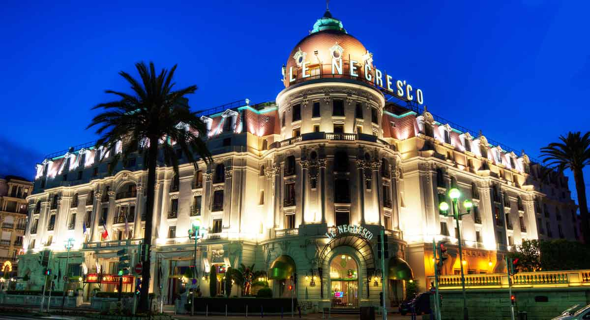 H tel de luxe nice for Hotel luxe france