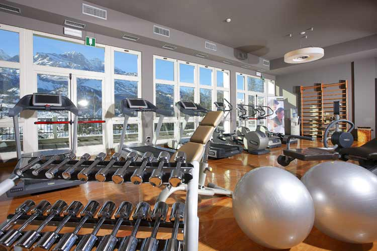 Cristallo hotel Cortina-Fitness Room