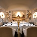 Dining at L'Olivo restaurant Capri Palace Hotel & Spa