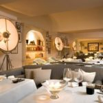 Tables of L'Olivo restaurant at Capri Palace Hotel & Spa