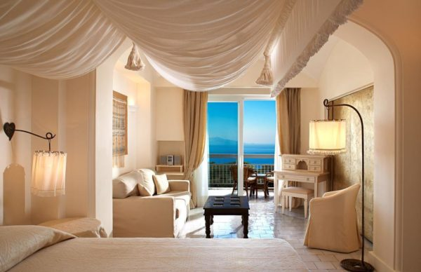 Bedroom at Capri Palace Hotel & Spa