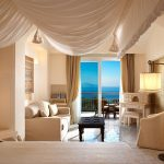 Room with ocean view at Capri Palace Hotel & Spa