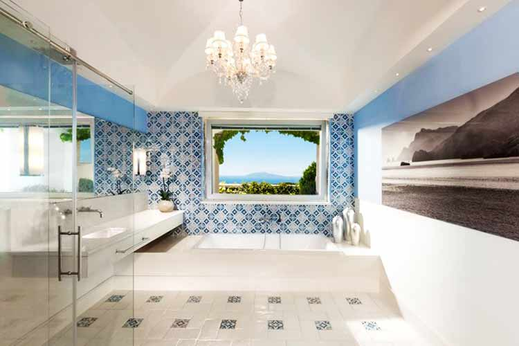 Capri Palace Hotel - bathroom