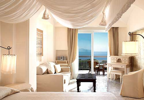 Capri Palace room with sea view
