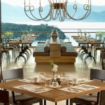 Restaurant with sea view D Maris Bay