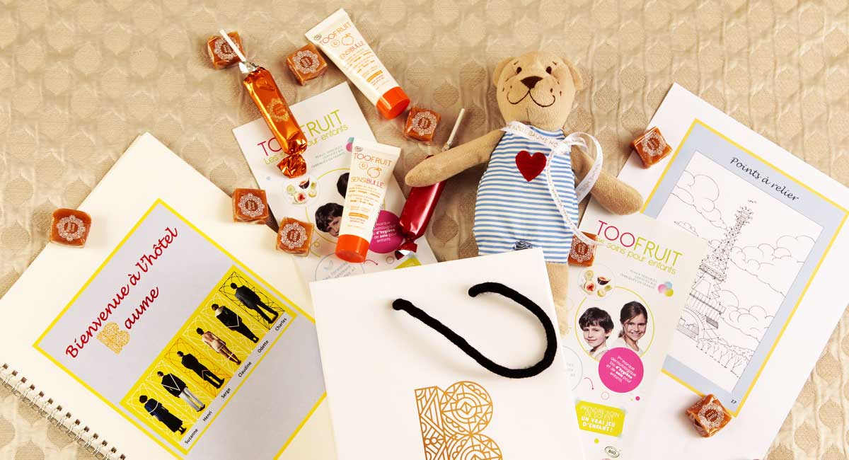 Kids Welcome pack-Hotel Baume