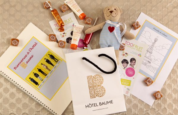 Hôtel Baume Gifts for kids