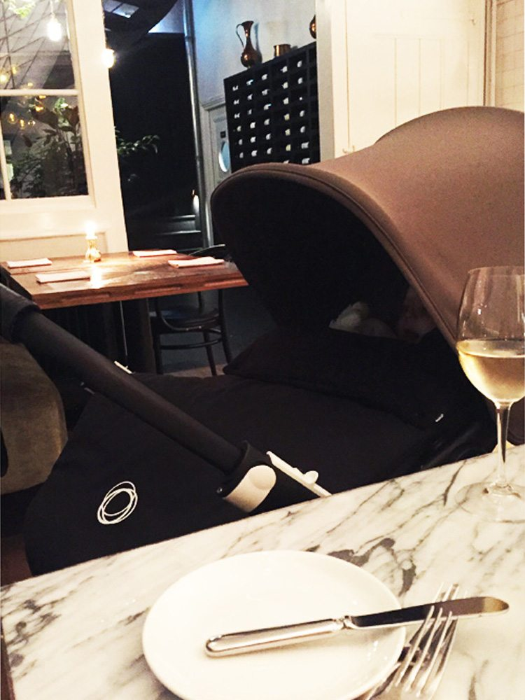 Pulitzer-Hotel - Amsterdam - apero with stroller