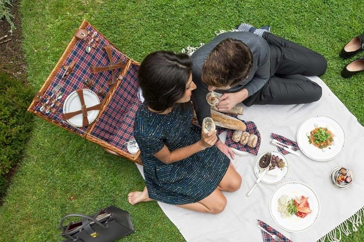 Lovers' picnic