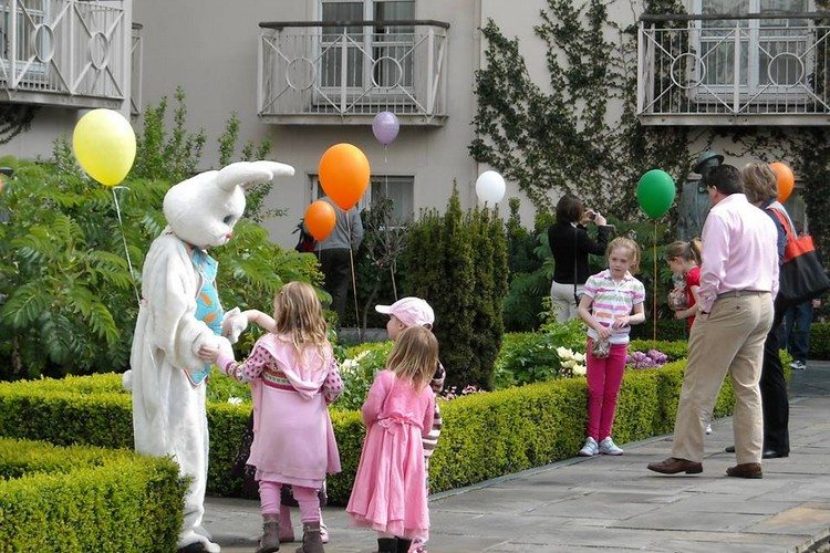 Easter takes also place at the Merrion