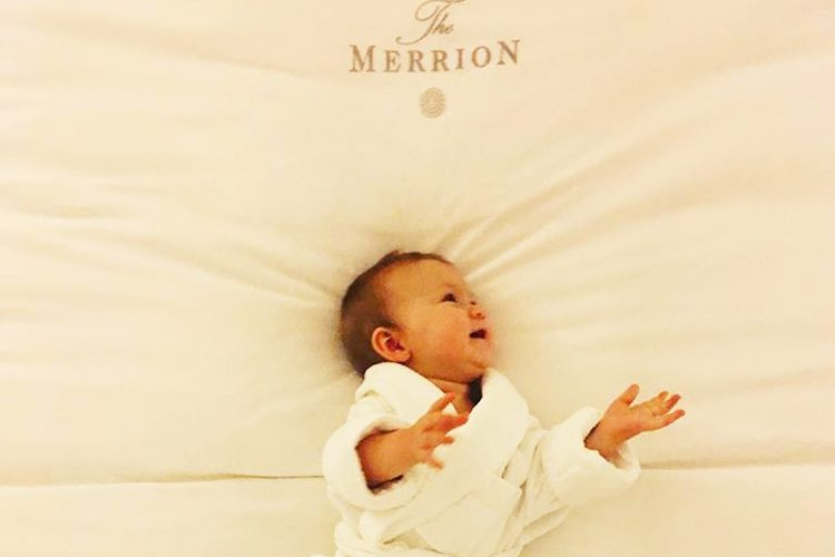 Baby will sleep like a little prince at The Merrion
