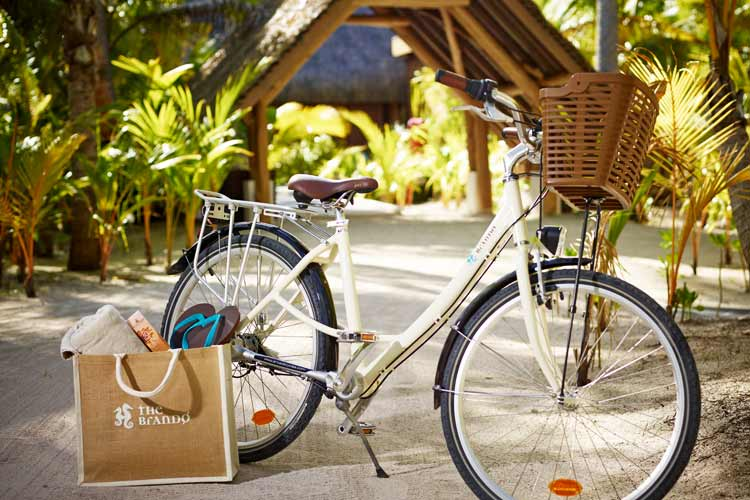 The Brando resort-bike