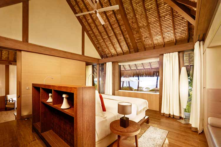 The Brando resort-bedroom