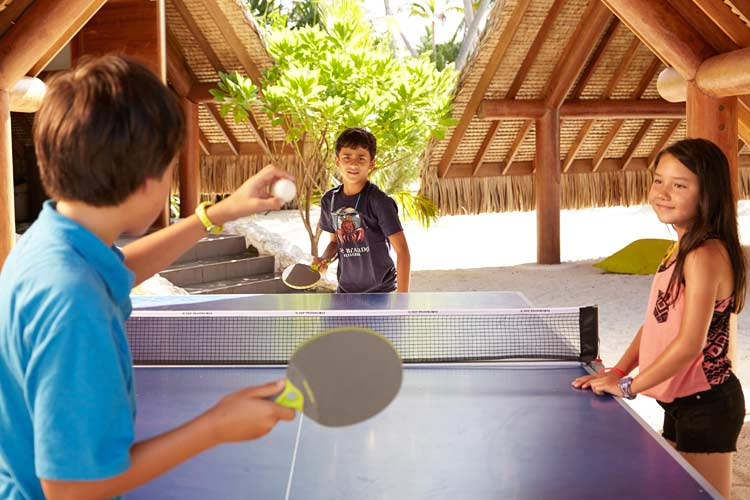 The Brando resort-table tennis