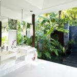 Bathroom with outdoor shower at Niyama Private Islands Maldives