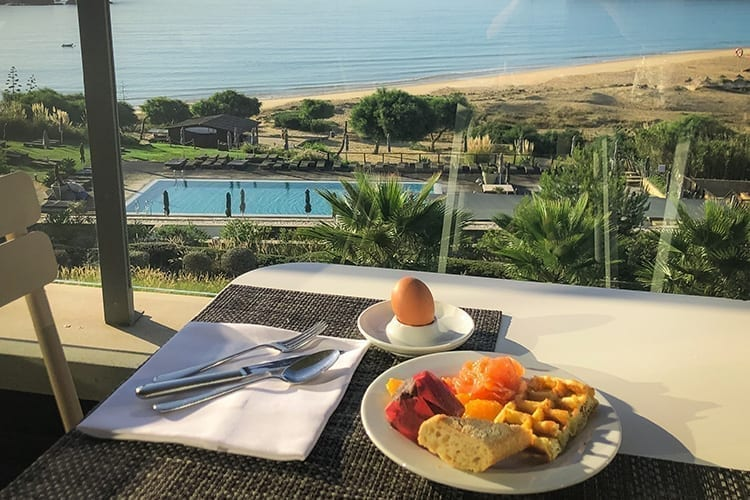 Martinhal Sagres Breakfast with a view