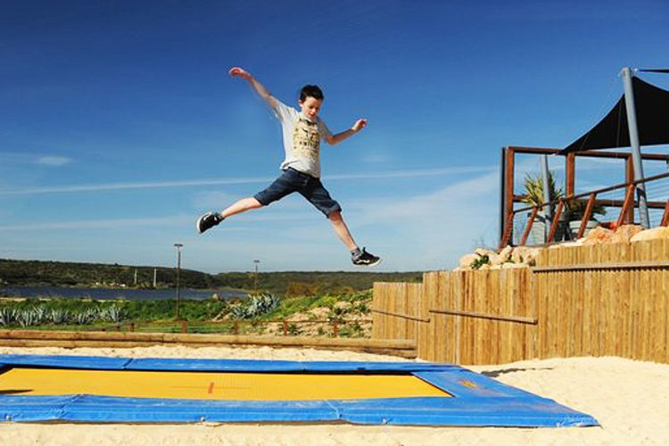 Martinhal Sagres Activity trampoline