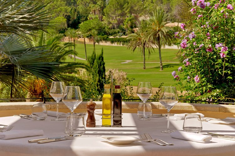 Sheraton Mallorca Lunch with a view