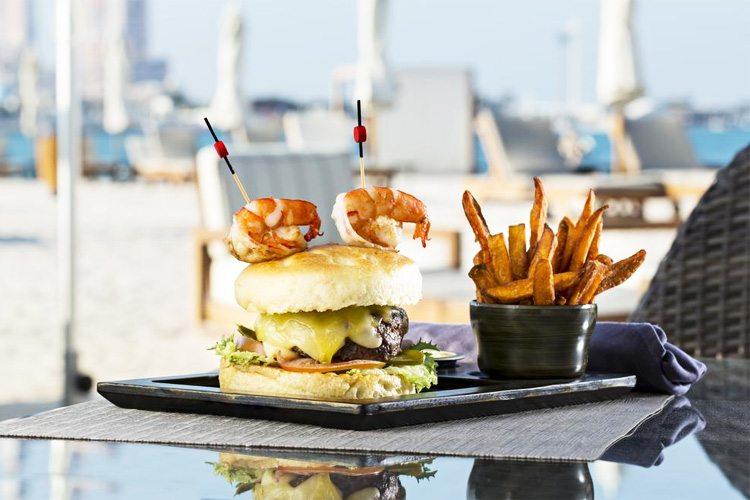 The St Regis Abu Dhabi Hamburger