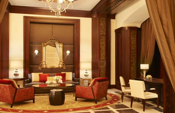 The St Regis Abu Dhabi Living room