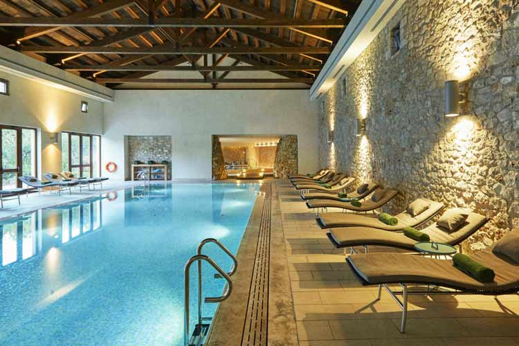 The Romanos Costa Navarino-indoor pool
