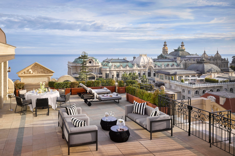 Little Guest Hotels Collection Metropole Suite Carré d'Or Terrasse