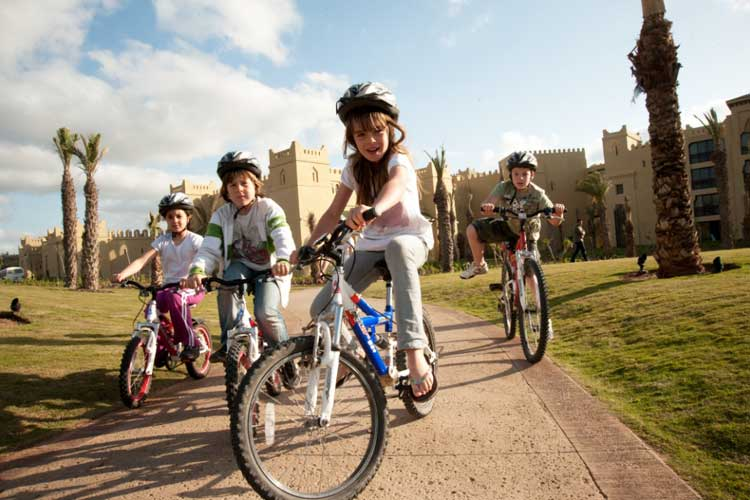 Mazagan Resort-children bikes