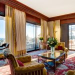 Living room with a terrace Hotel Metropole Monte-Carlo *****