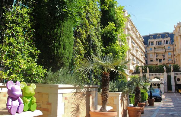Outdoor view of the hotel Hotel Metropole Monte-Carlo *****