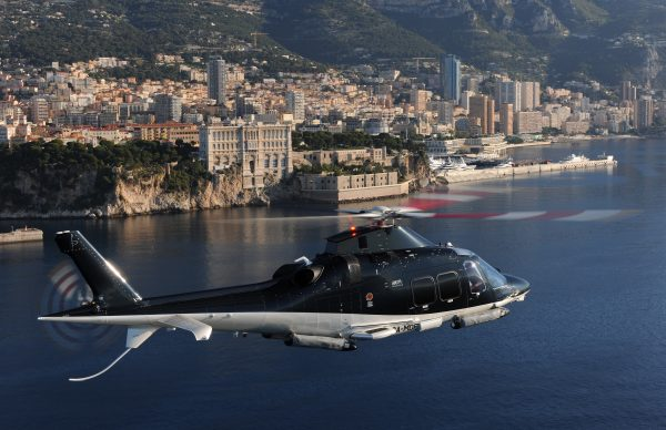 Helicopter flight over the city Hotel Metropole Monte-Carlo *****