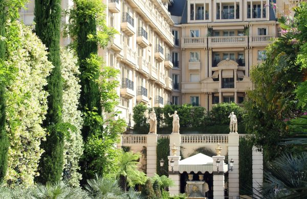 Hotel front view Hotel Metropole Monte-Carlo *****