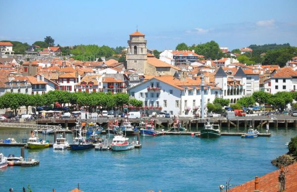 Saint-Jean-de-Luz in France