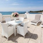 Outdoor terrace with sea view at Grand Hôtel Thalasso & Spa