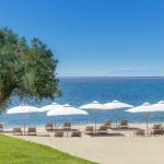 Ikos Olivia private beach