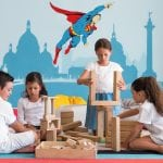 Children play at Ikos Olivia kids club