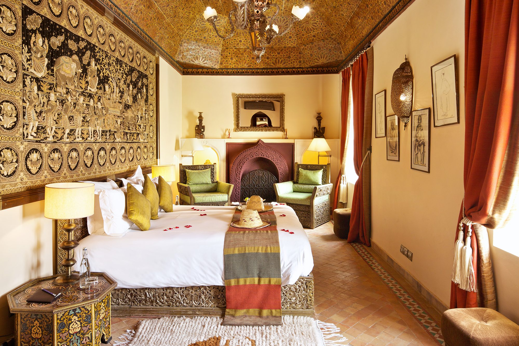 Superior Room at Kasbah Tamadot