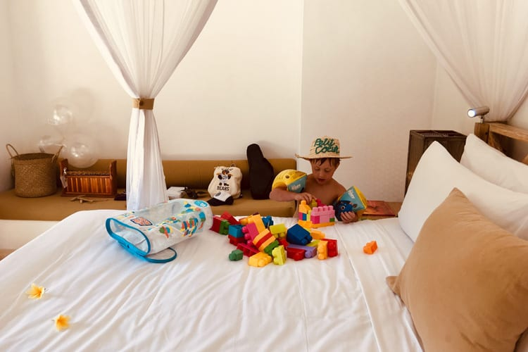 Little Guest Hotels Collection Villa Sungai Child playing room Bali