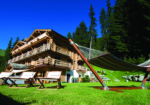 the Lodge Verbier summer